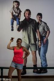 Monty & I at Steve Irwin's Australia Zoo!