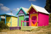 Pink Beach hut!!