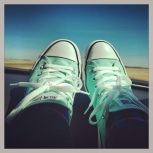 Roadtrip shoes - somewhere outside of Edmonton...