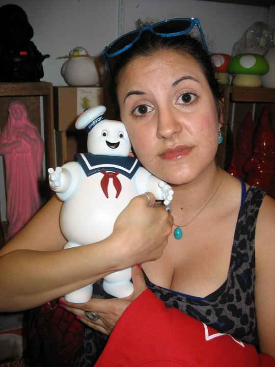 Mr Stay-Puffed from Ghostbusters!!