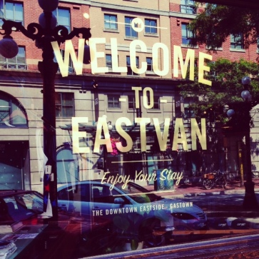 Gastown really is gorgeous - I'm an East Van girl through and through!